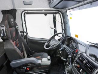 Novo cockpit dos caminhões Atego, Axor e Actros