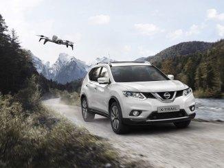 Nissan X-Trail com drone
