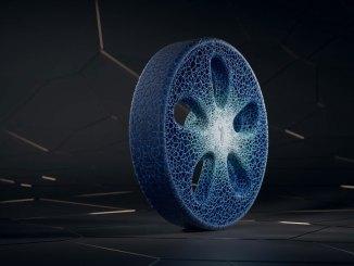 Pneu impresso em 3D da Michelin
