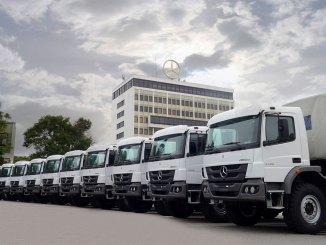 Mercedes-Benz exporta Atego