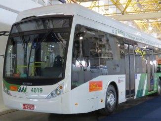 ônibus elétrico Dual Bus