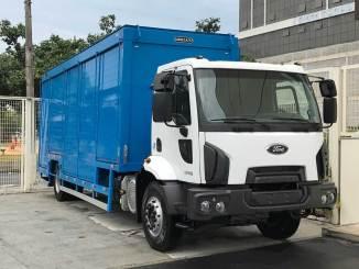 Ford Cargo para distribuição de bebidas