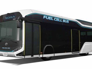 ônibus Sora da Toyota
