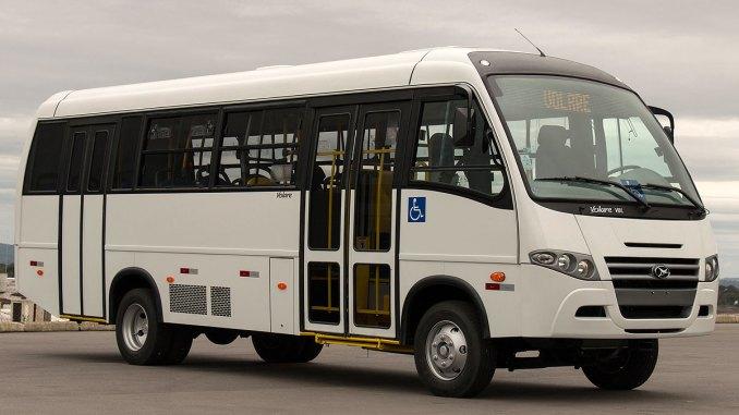 40 novos miniônibus V8L Urbano para a Cooptagran