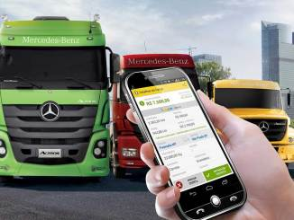 Mercedes-Benz como sócia do TruckPad
