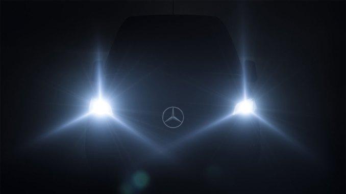 Mercedes-Benz transforma Sprinter em plataforma logística