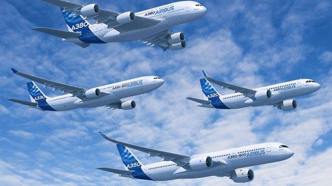 Airbus teve recorde de entregas em 2017