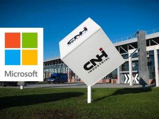 CNH Industrial e microsoft