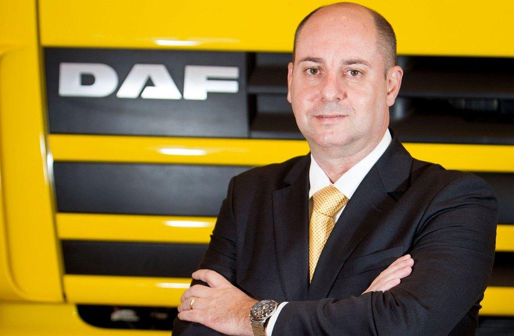 Luis Gambim. diretor comercial da DAF