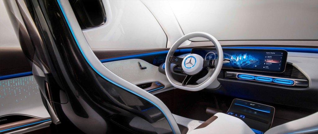 Mercedes EQ C - painel