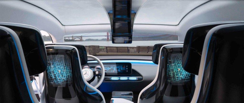 Mercedes EQ C - Interior