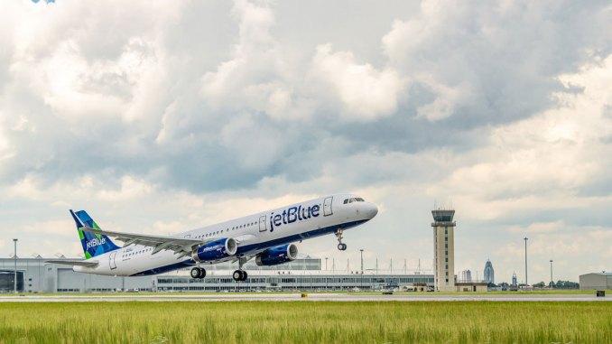 Airbus que opera com combustível sustentável