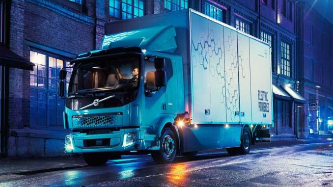 caminhões elétricos Volvo