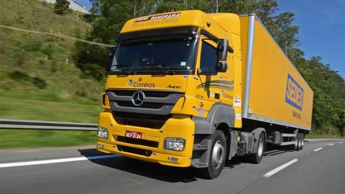 Mercedes-Benz vende 222 caminhões para Transpanorama