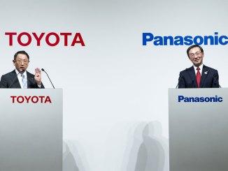 Toyota e a Panasonic