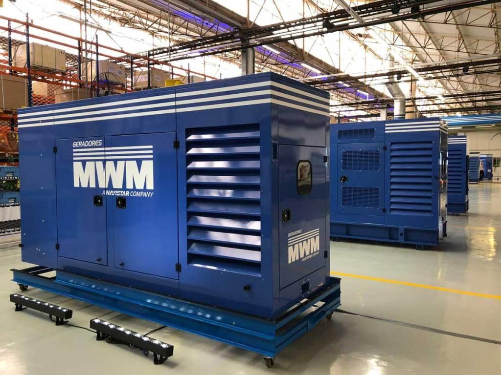 geradores de energia elétrica - MWM