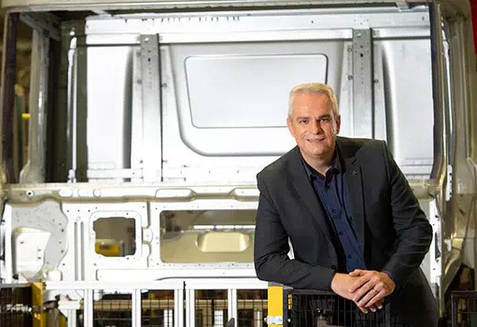 Ricardo Cruz, gerente executivo da fábrica de soldas - Fábrica 4.0 da Scania
