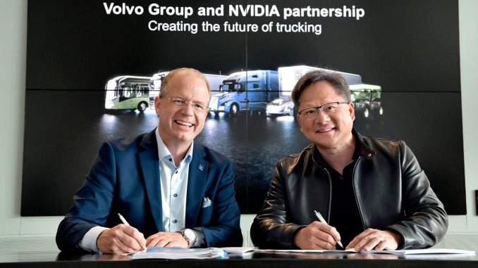 parceria Volvo NVIDIA