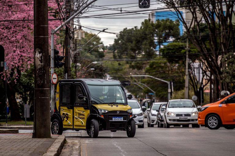veículos elétricos em curitiba