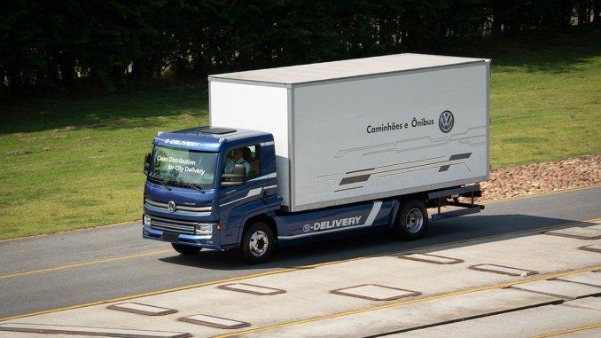 e-delivery, caminhões elétricos no Brasil