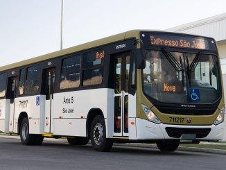 100 novos ônibus vw