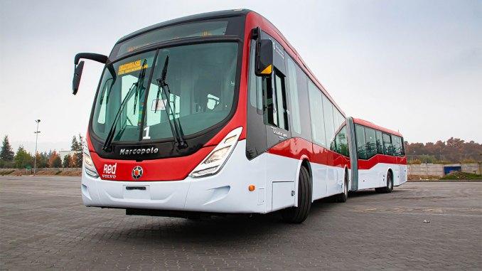 Ônibus articulado Volvo