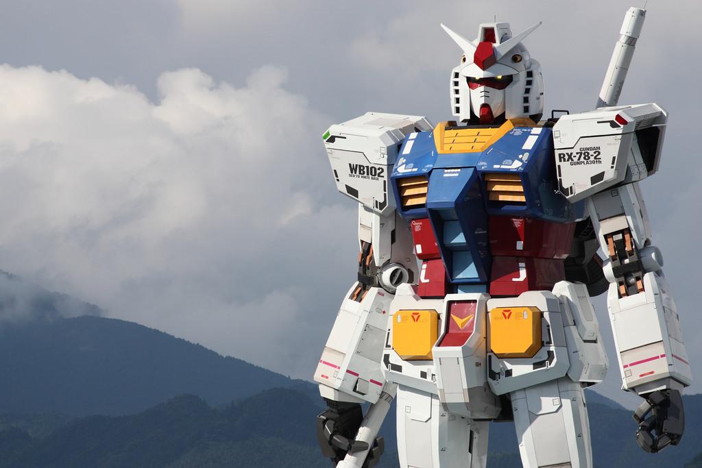 Japanese Companies Building Real Life Gundam Robots