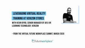 Leveraging Virtual Reality Training at Verizon Stores