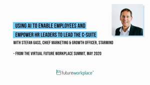 Using AI to Enable Employees and Empower HR Leaders to Lead the C-Suite