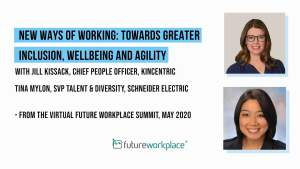 New Ways of Working: Towards Greater Inclusion, Wellbeing and Agility