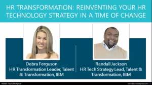 Webinar: HR Transformation: Reinventing Your HR Technology Strategy in a Time of Change