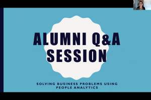 """Webinar: Q&A Session with """"Solving Business Problems with People Analytics"""" Faculty"""
