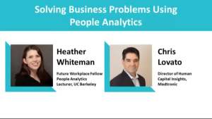 Webinar: Solving Business Problems Using People Analytics