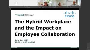 Spark Session - June 24, 2021: The Hybrid Workplace and the Impact on Employee Collaboration