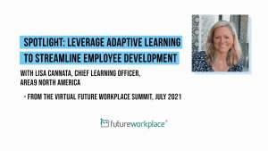 Spotlight: Leverage Adaptive Learning to Streamline Employee Development