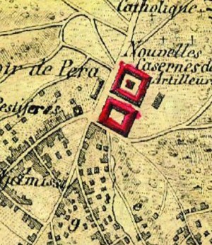 Resim1: Kauffer Haritası'nda TTK, 1786
