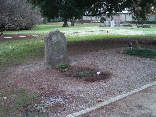 Borges'in mezarı - Cenevre