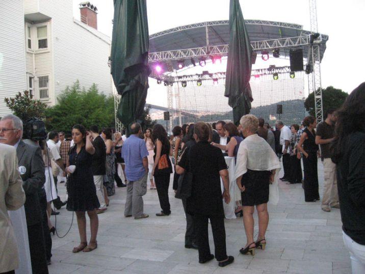 47. Uluslararası Antalya Altın Portakal Film Festivali Açılış Kokteyli 28.07.2010 Esma Sultan Yalısı