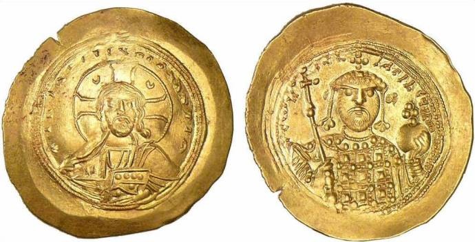 Constantin 9 Nomisma Histamenon 1042-1055