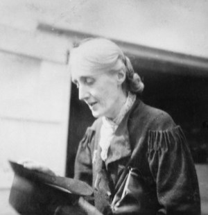 NPG Ax88536,Virginia Woolf (nÈe Stephen),by Barbara Strachey (Hultin) (later Halpern)