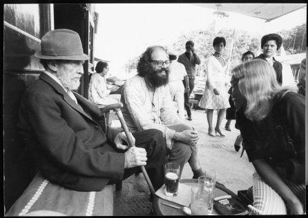 Ezra Pound ve Allen Ginsberg