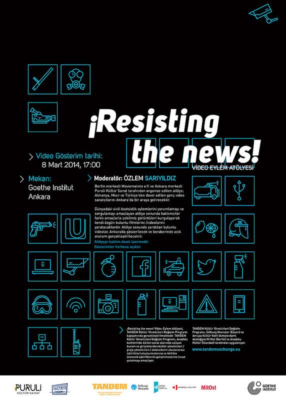 ¡Resisting the news! Video-Eylem Atölyesi 1