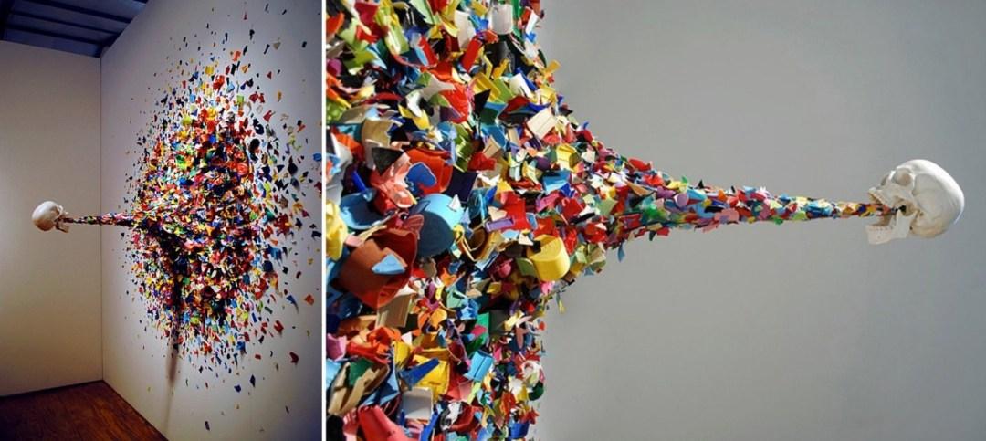 Bu anlamdaki modernlik deneyimi - sanat dallarının belki de en ilgi çekicilerinden biri 'kusma sanatı'dır.