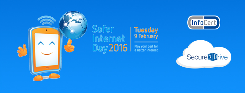 Per il Safer Internet Day Infocert SecureDrive a prezzo speciale