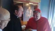 S.Em.Rev.ma Card. Raymond Burke, Rev. Don José-Apeles Santolaria e Conte Fernando Crociani Baglioni