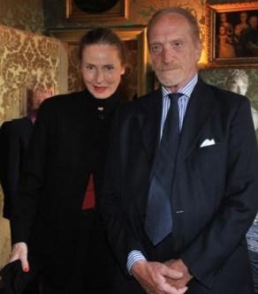 I principi Massimo, Don Carlo e Donna Elisa. Foto dagospia.com