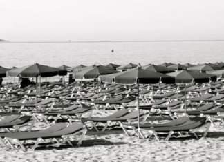Empty beach summer 2012