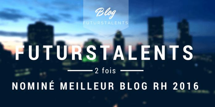 FutursTalents, Le blog FutursTalents nominé deux fois, Blog FutursTalents