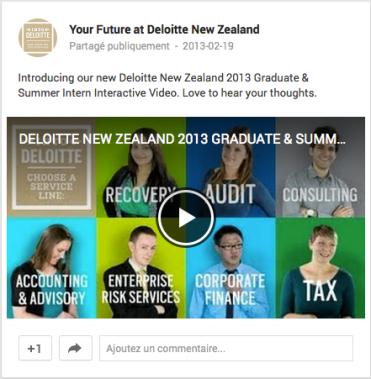 Your Future at Deloitte Google+ Nouvelle-Zélande