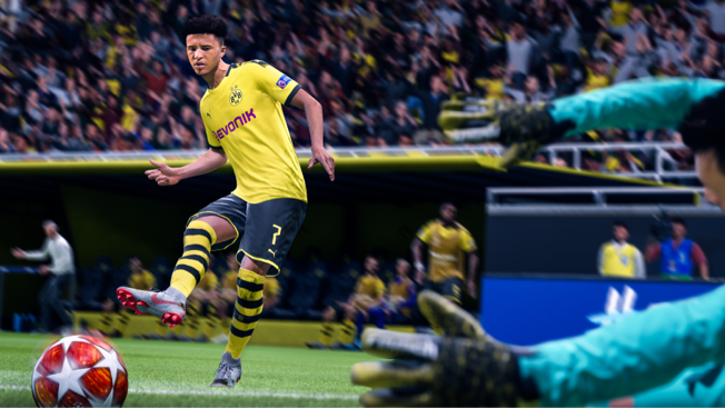 fifa20 gameplay composed